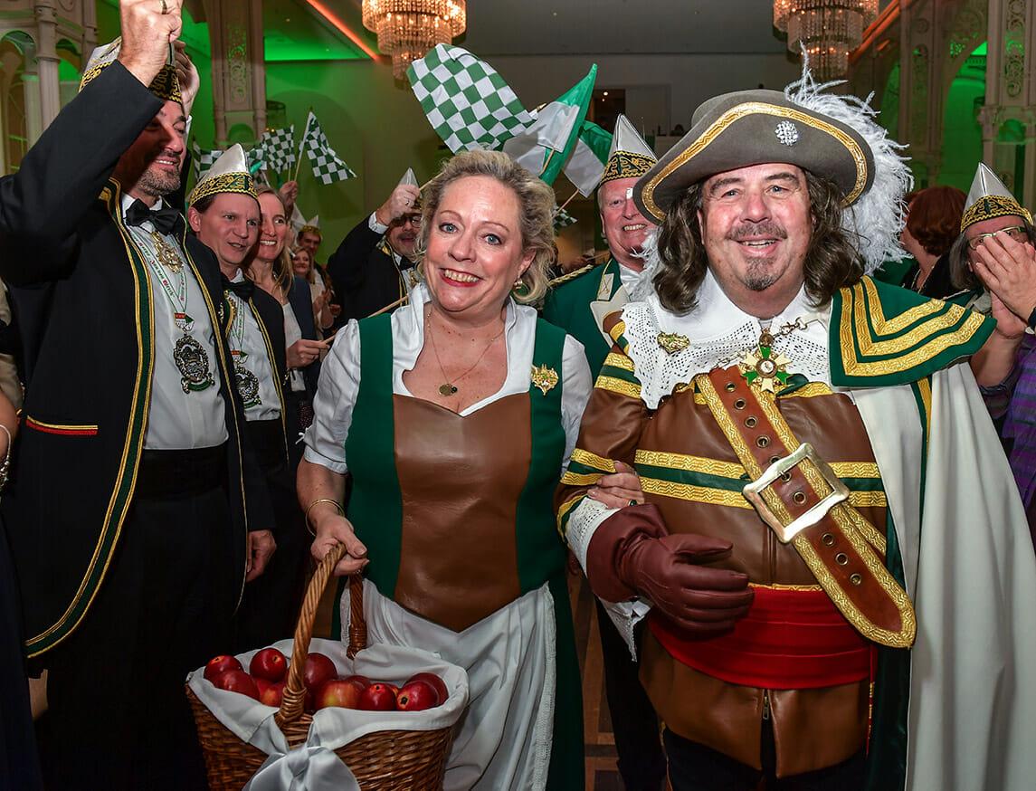 Dirk und Jackie Kenntner als Jan und Griet 2020
