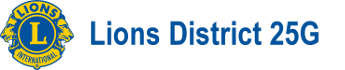 Lions District 25-G Logo