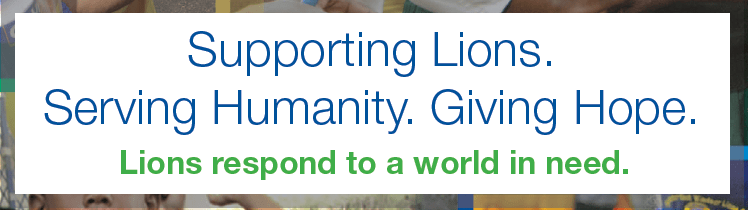 Supporting Lions. Serving Humanity.