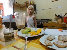 breakfast at our home