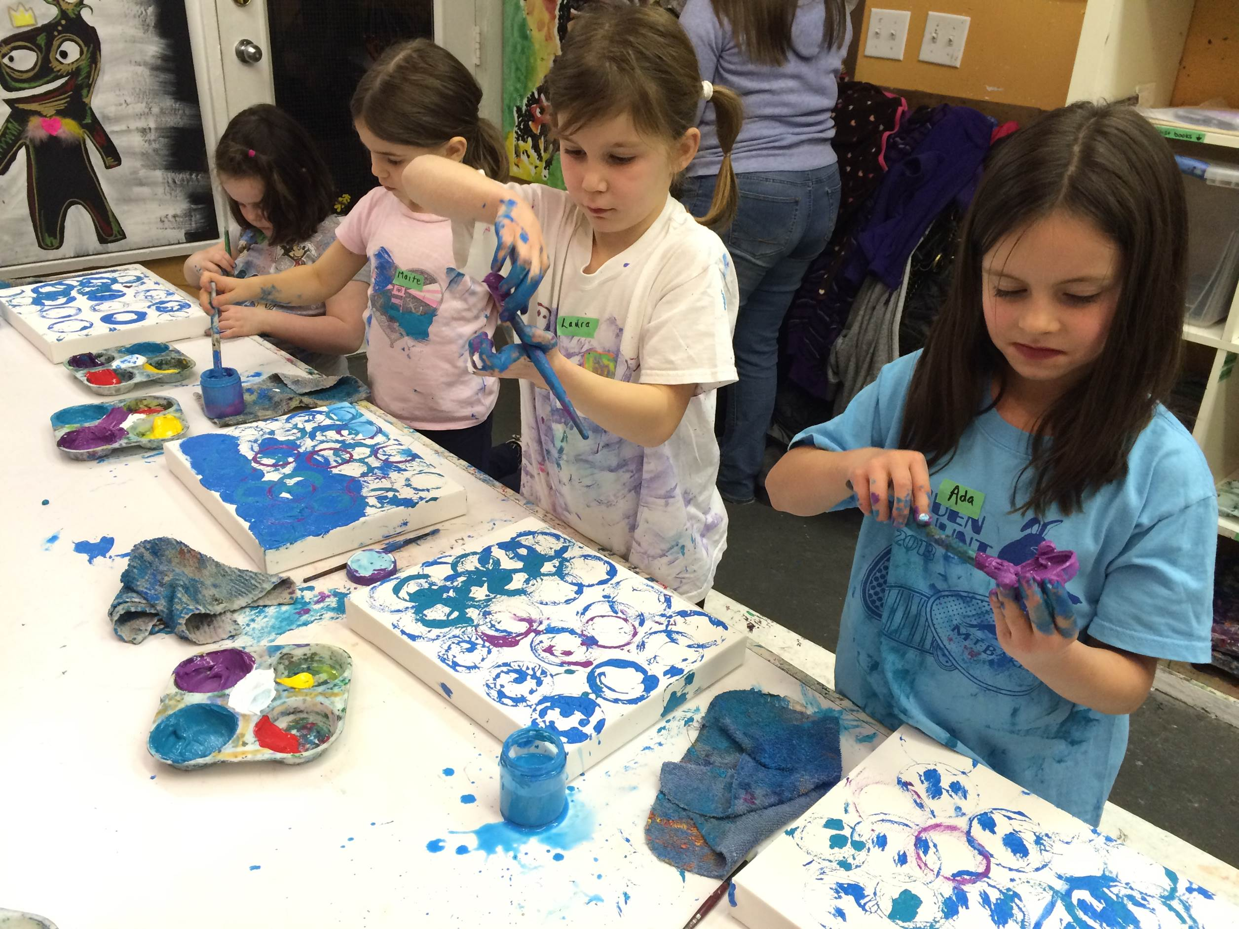 Seymour Brownies Painting