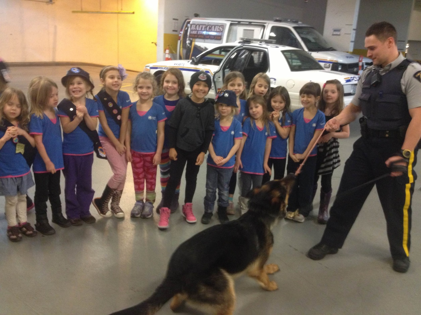 Seymour Sparks meet the RCMP