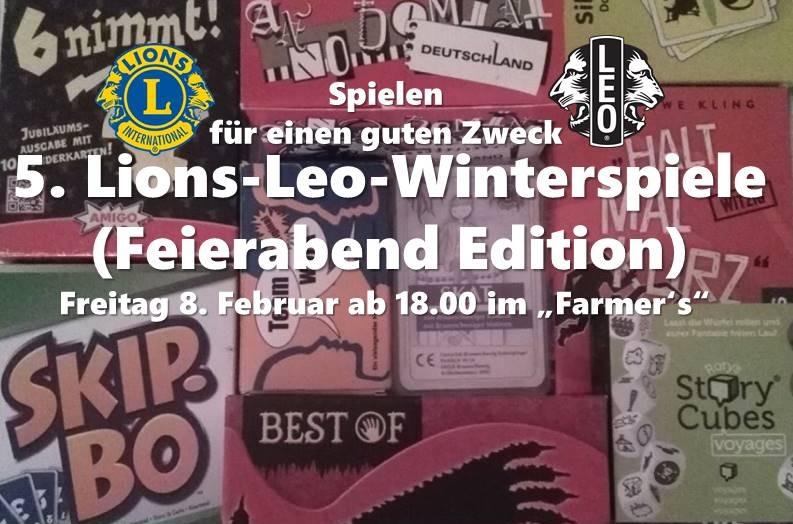 Leo Lions Winterspiele am 8.2.2019