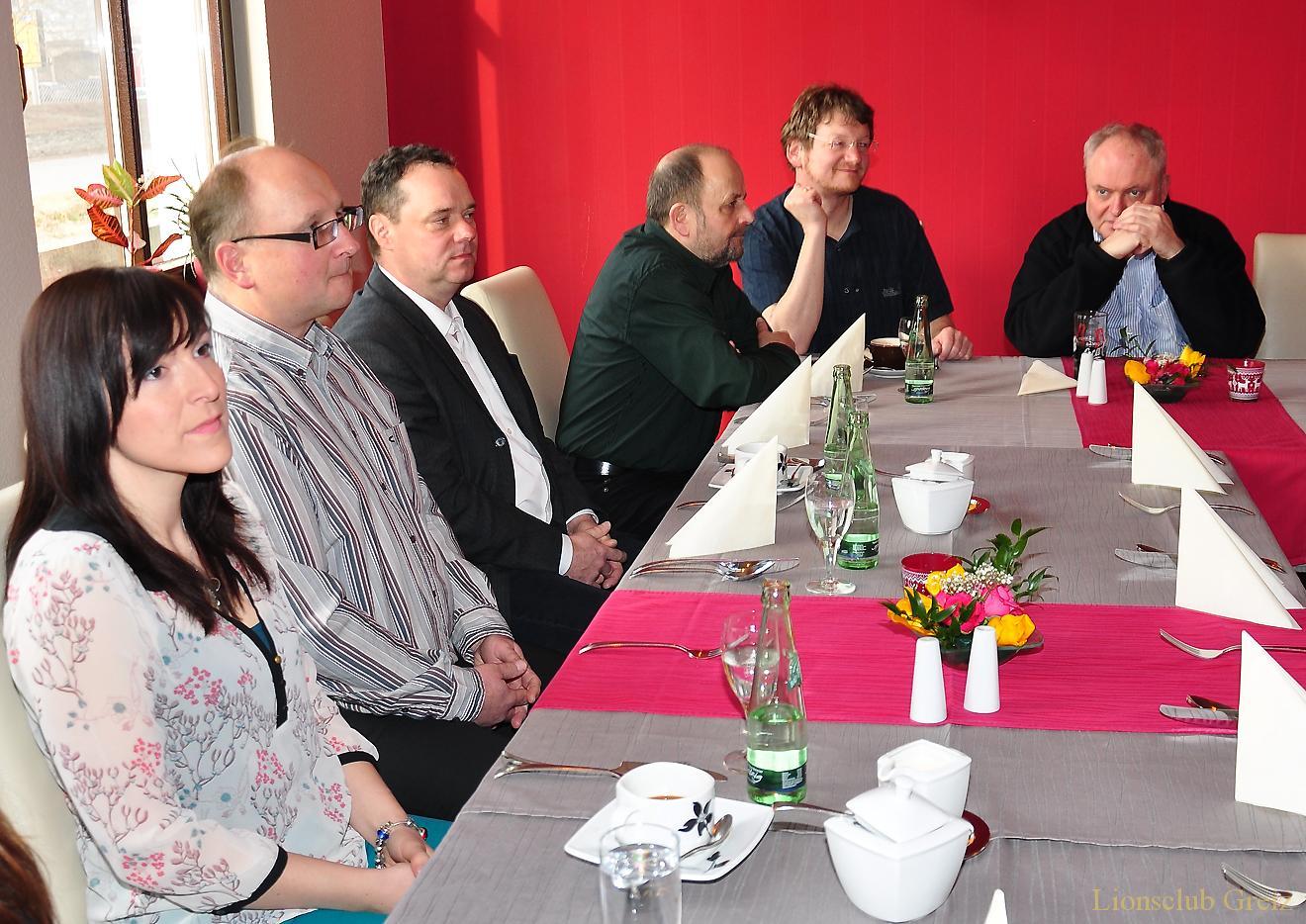 Traditionelles Heringsessen des Lionsclubs Greiz im »Tivoli«
