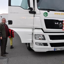 Hilfstransportes ins weißrussische Brest