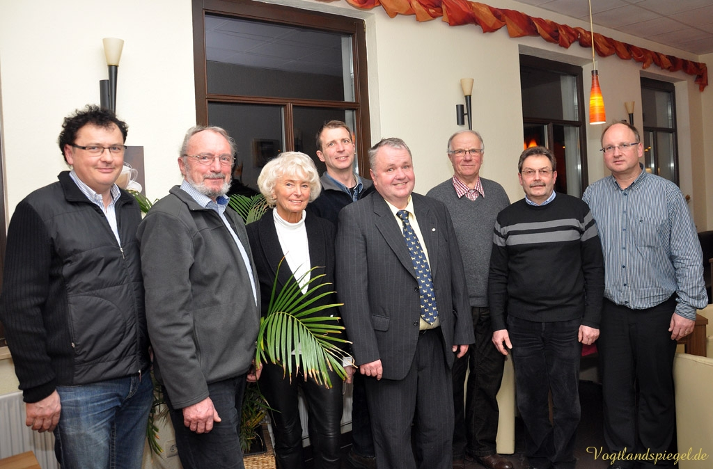 Vorstand 2013/2014 des Greizer Lionsclubs