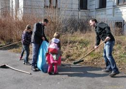 Traditioneller Frühjahrsputz des Lionsclubs Greiz