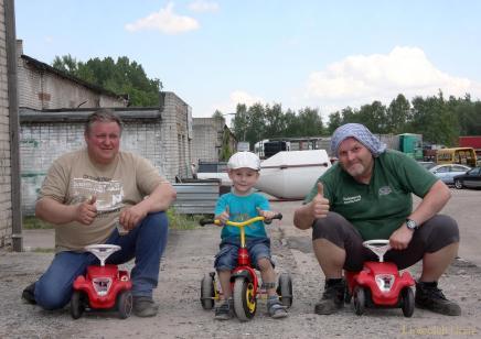 Eindrücke der Lionsclub-Fahrt des Hilfstransportes von Greiz nach Brest
