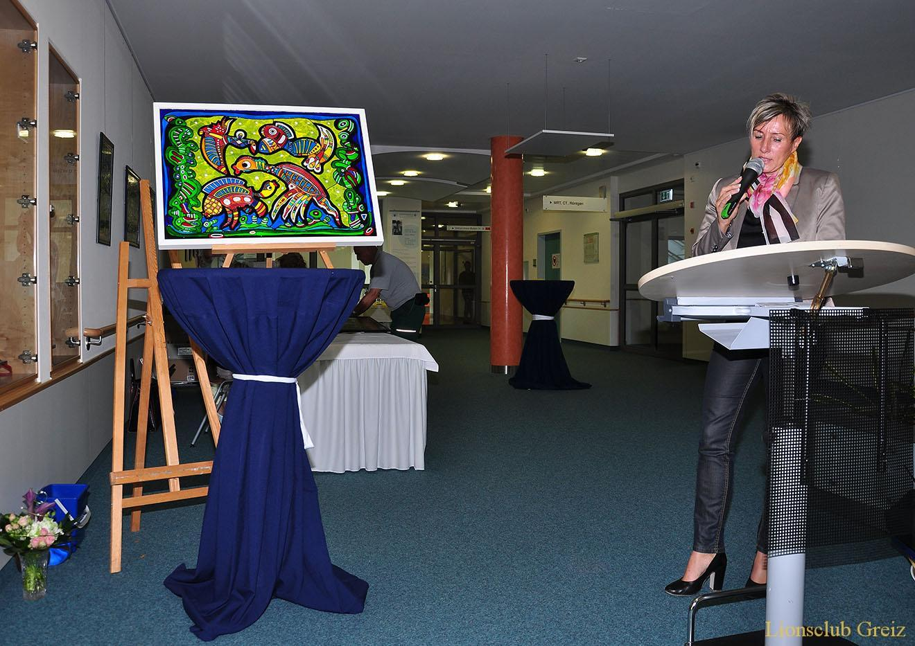 Finissage mit Versteigerung des Lebenswerkes von Jürgen Weber