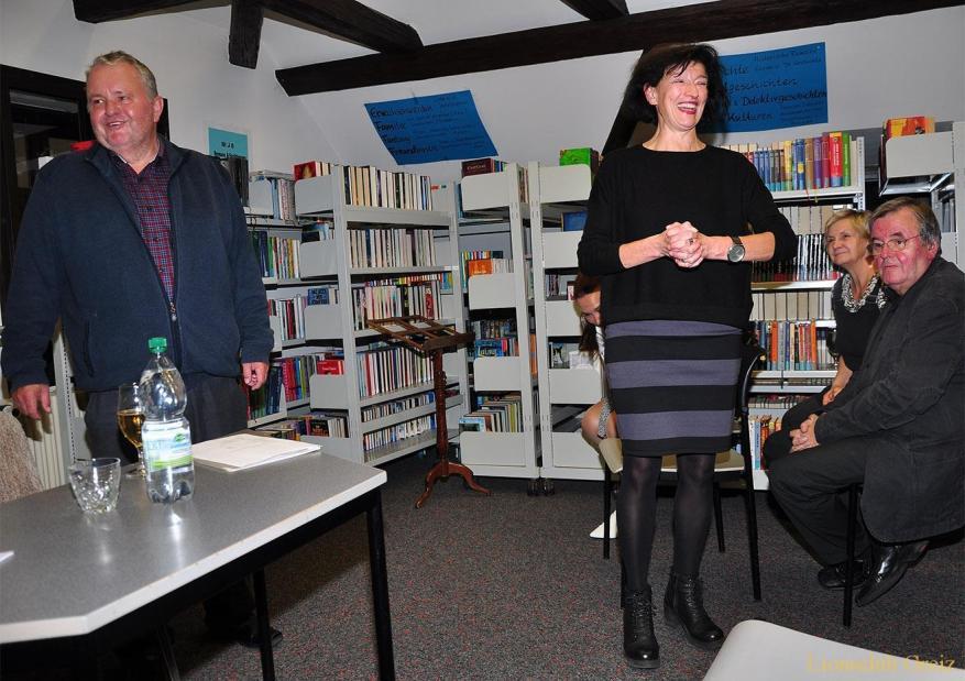 Lions treffen sich in Greizer Bibliothek