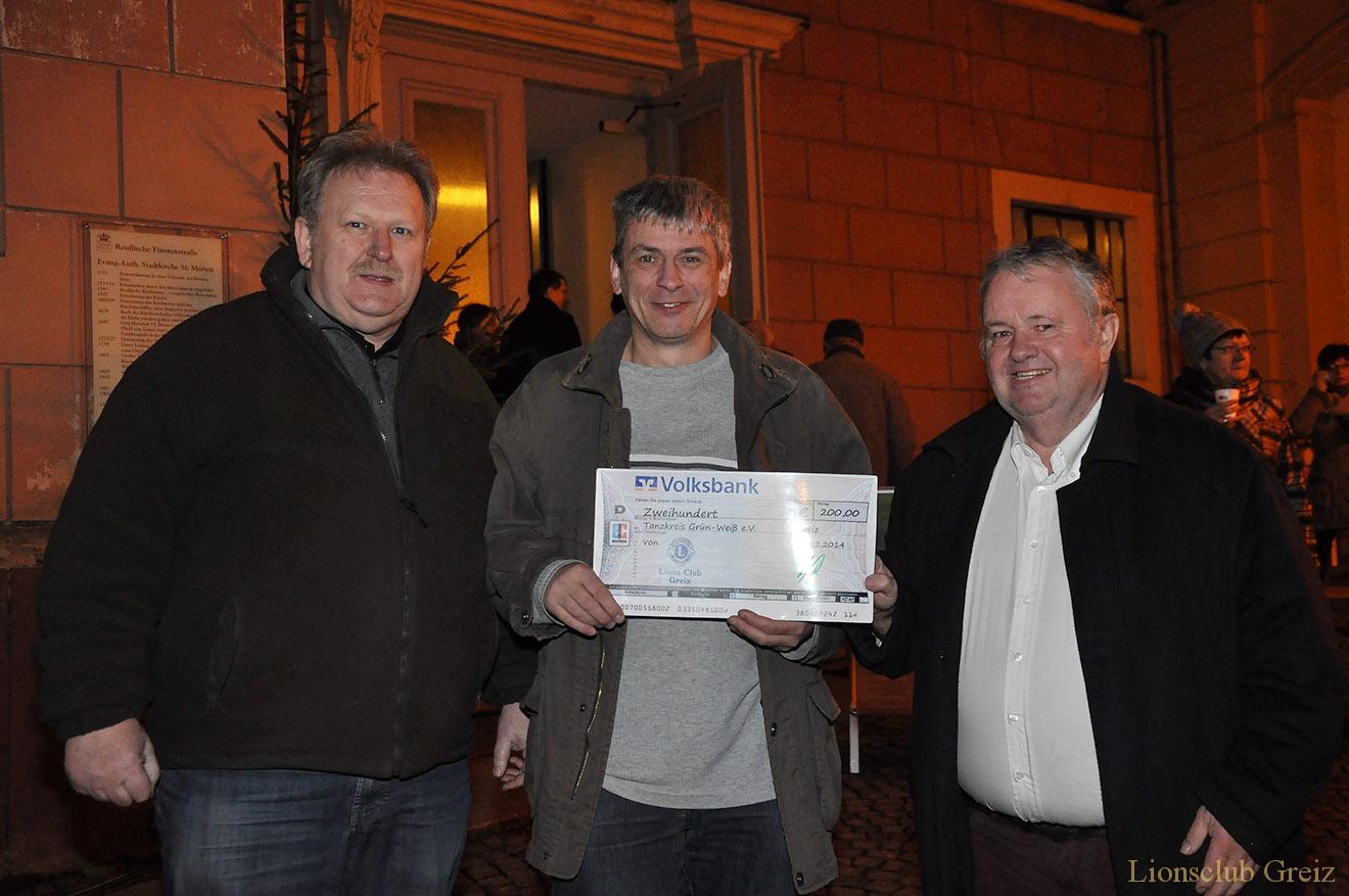 Lions Club Greiz unterstützt Jugendarbeit des Tanzsportvereins