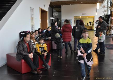 Lions Club Greiz beschenkt Asylbewerberkinder