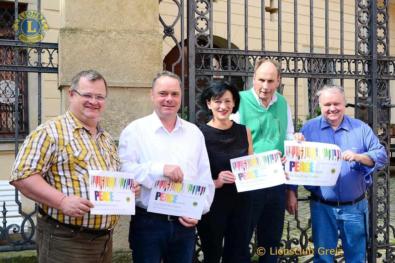 Lions Club Greiz: Startschuss für Friedensplakatwettbewerb