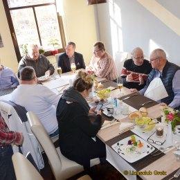 Aschermittwoch: Greizer Lions Club traf sich zum traditionellen Heringsessen