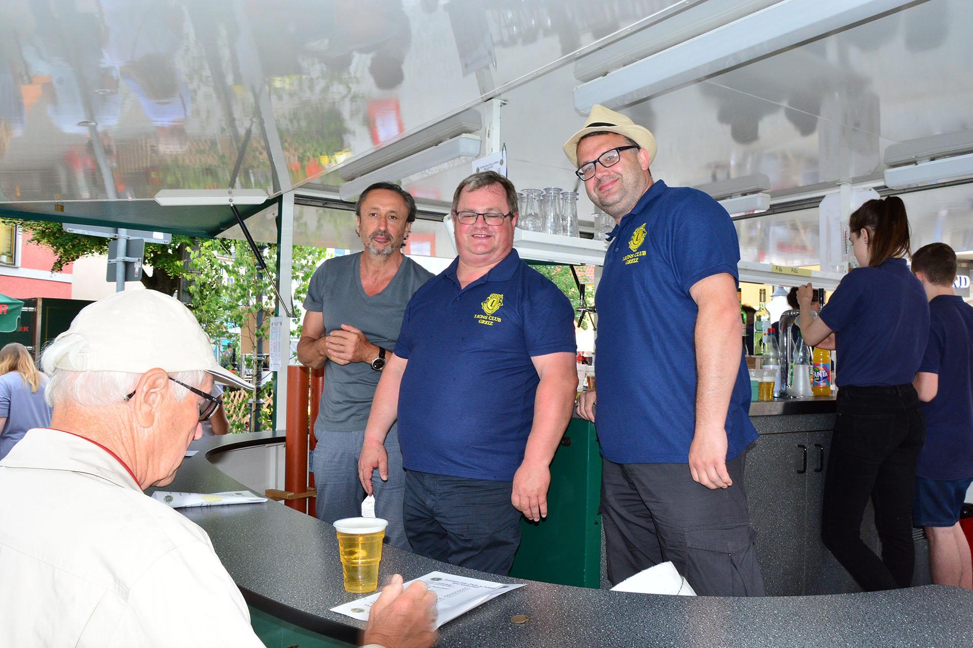 Der Lions Club Greiz engagierte sich beim Greizer Park-und Schlossfest.
