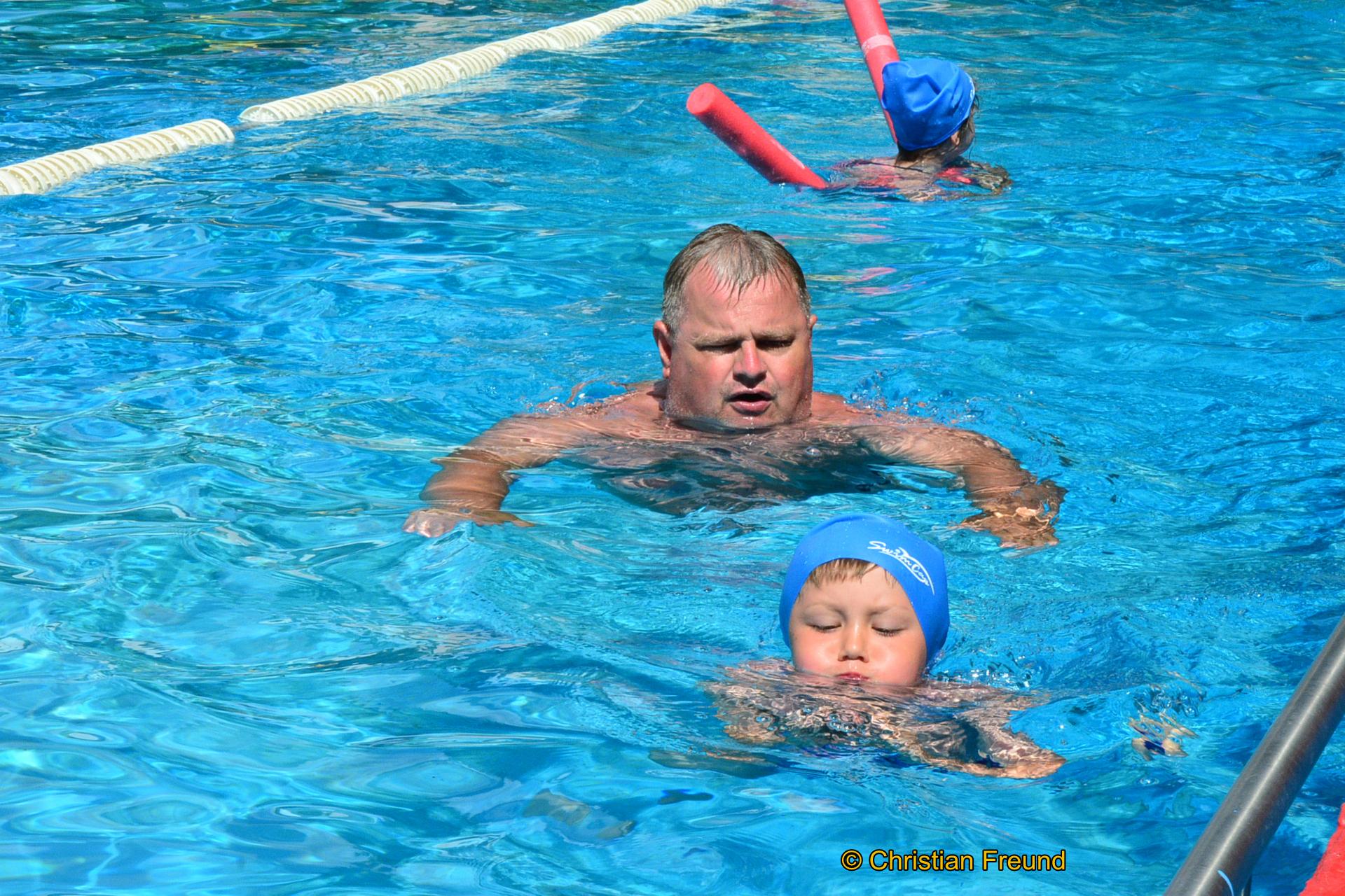 Obergrochlitzer Ortsteilbürgermeister war aktiv im Hohenleubener Schwimmlager