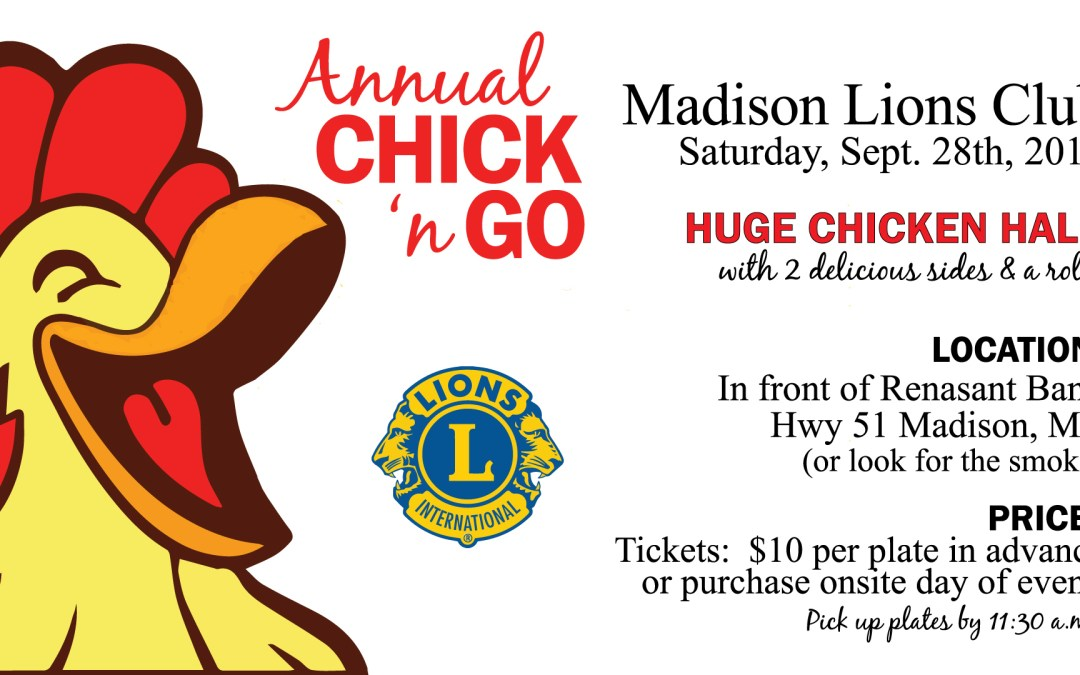 Chick 'N Go 2019 Planned
