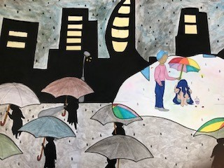 Winner of Peace poster competition: Kindness Matters
