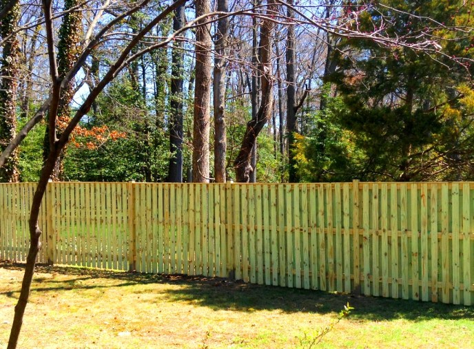 Board on Board Privacy Mount Vernon Fairfax County VA by Lions Fence 2