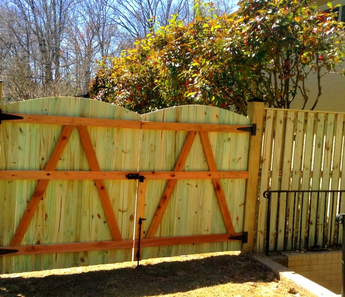 Board on Board Privacy Mount Vernon Fairfax County VA by Lions Fence 4
