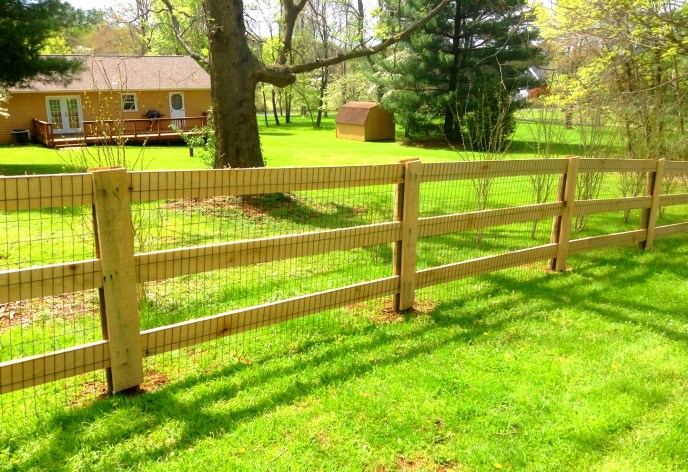 Pasture Fence Warrenton Fauquier County VA by Lions Fence 5