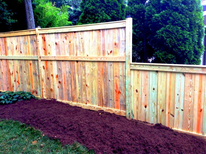 Solid Board Treated Pine Vienna Fairfax County Northern Virginia by Lions Fence