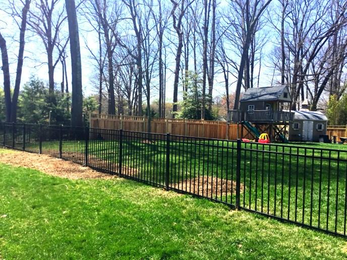 aluminum fence Loudoun county 2