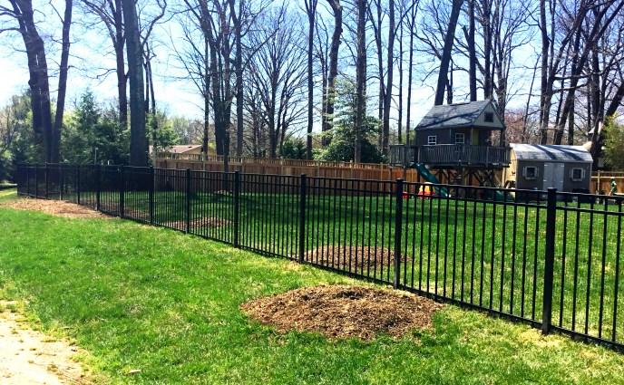 aluminum fence Loudoun county 3