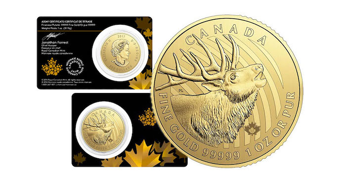 """Call of the Wild"" Series of Coins"