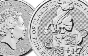 Self-Sovereign Identity - The Fifth Coin in the Popular Queen's Beast Series from the Britain's Royal Mint