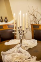 Bronze-Luxury Suite 7-dinning table-pelion hotel