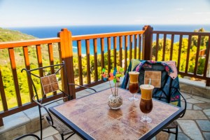 Lime-Studio 4- Balcony View-Pelion Hotel