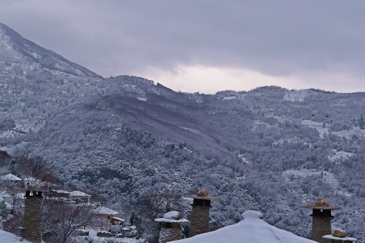 winter pelion mountain - luxury hotel