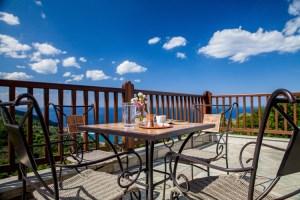 Coral - Suite 1- View from balcony-xenodoxeio pelion