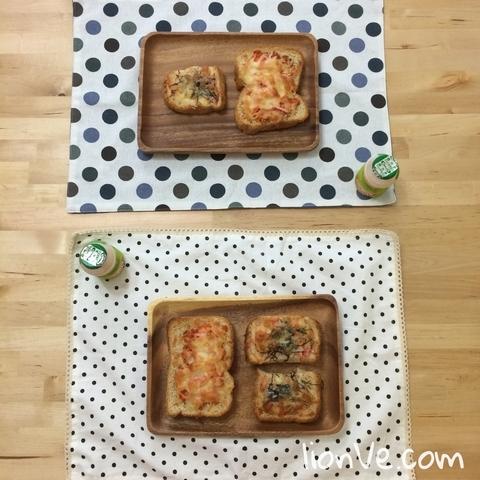 芝士燒鮭魚蟹柳吐司/芝士蟹柳紫菜吐司