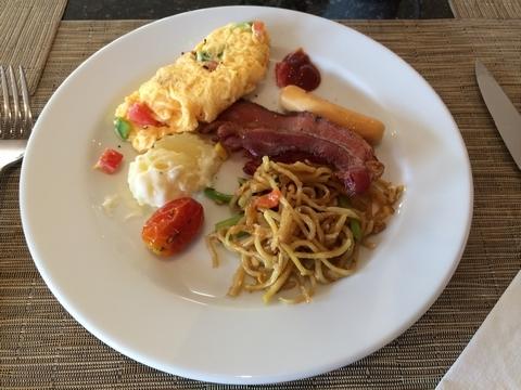 breakfast @ hotel