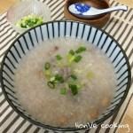 【電飯煲煮食】柴魚花生豬骨粥