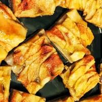Tarta cu mere (blat din faina integrala )