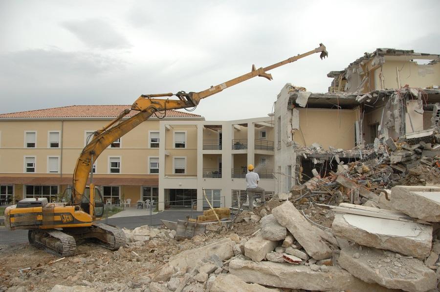 démolition travaux publics
