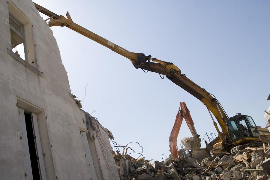 Chantier de démolition TP