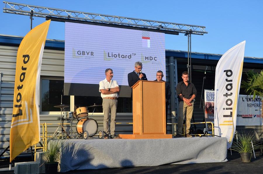 inauguration agence de Crest Liotard Groupe