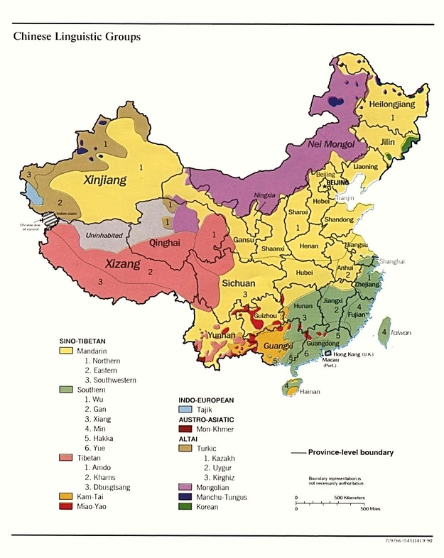 limbi-vorbite-in-china