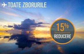15% reducere de la Blue Air valabilă doar azi. Lisabona 356 de lei dus-întors de Crăciun și Revelion