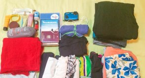 Bagajul de călătoare. Ce am împachetat cu mine când am plecat de acasă.