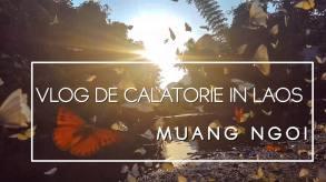 Vlog de călătorie din Laos – prin Nord – Muang Ngoi