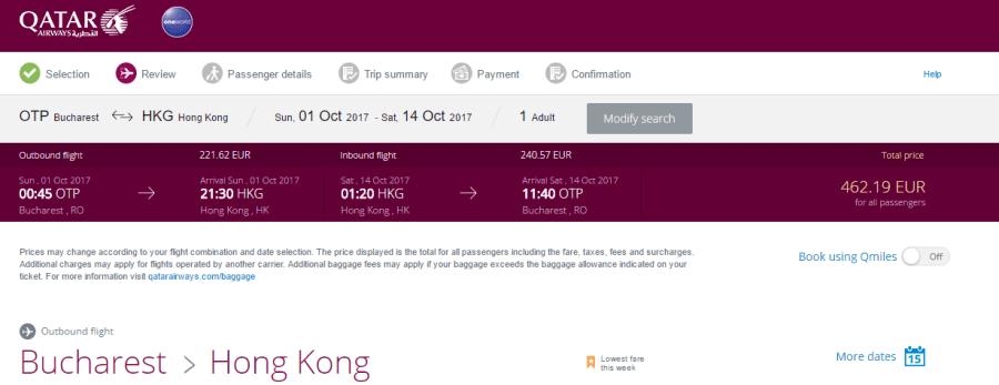 promoții-qatar-airways-hong-kong