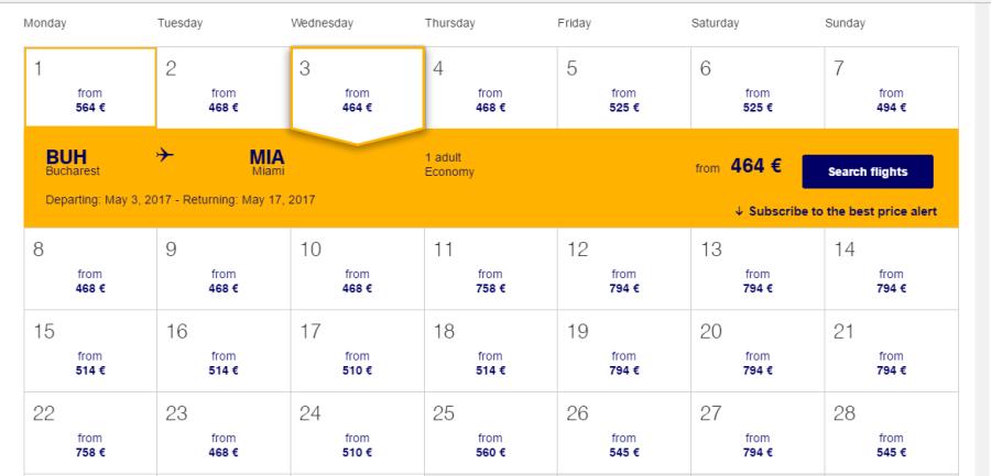 promoție-Lufthansa-Miami