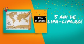 La cinci ani de Lipa Lipa câștigă un kit de călător de la MindBlower