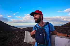 Experiențe de încercat în Nicaragua – volcano boarding