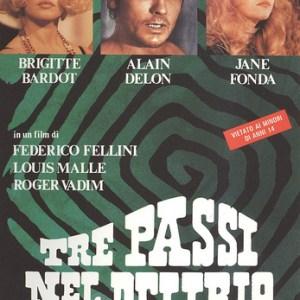 Tre passi nel delirio (L. Malle, R. Vadim, Fellini, 1968)